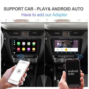 Image 4 - Isudar autoradio multimédia H53 Android, 8 cœurs, RAM de 4 go, ROM de 64 go, caméra DVR, DSP, 4G, 1 Din, pour voiture Skoda/Octavia 2014 1080