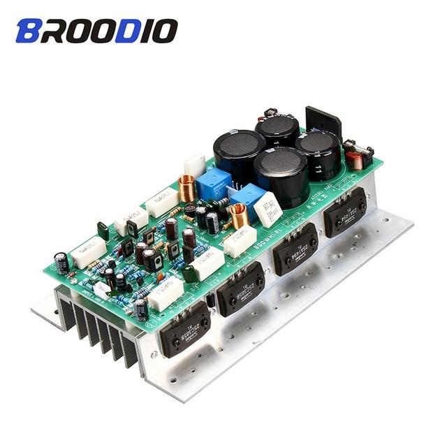 Sanken 1494/3858 High Power Hifi Audio Versterker Boord Dual Channel 450W + 450W Stereo Amp Mono 800W versterker Board Voor Geluid Diy