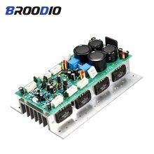 Sanken 1494/3858 alta potência de alta fidelidade placa amplificador áudio duplo canal 450w + 450 amplificador estéreo mono 800 placa para som diy