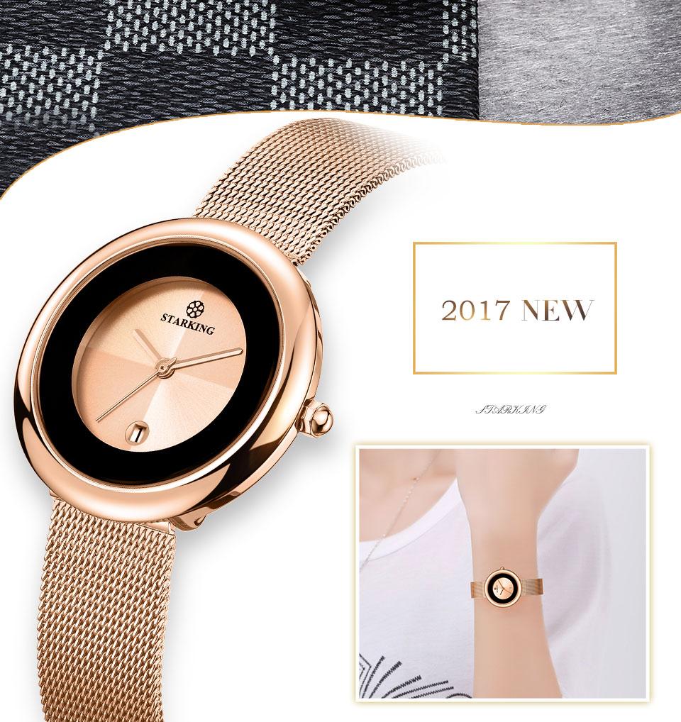Marca de luxo relógio de quartzo feminino