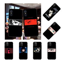 NBDRUICAI Black Cartoon kuroshitsuji Naruto Bling Cute Phone Case for iPhone 11 pro XS MAX 8 7 6 6S Plus X 5S SE XR case nbdruicai the shawshank redemption bling cute phone case for iphone 11 pro xs max 8 7 6 6s plus x 5s se xr case