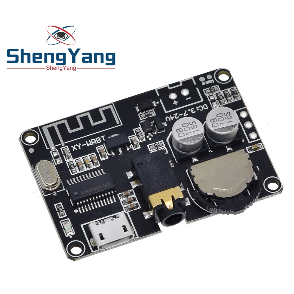 Placa receptora de Audio Bluetooth 5,0, decodificador sin pérdidas mp3, módulo de música estéreo inalámbrico, XY-WRBT