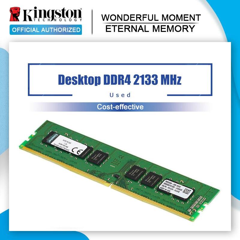 Оперативная память Kingston DDR4, 8 ГБ, 4 Гб, 2133 МГц, ddr4, 8 ГБ, 1,2 В, CL15, 288pin, настольная память для игр DIMM|Оперативная память|   | АлиЭкспресс