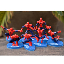 Spider-Man-Toys Cake-Decorations Avengers Action-Figure Marvel Superhero Brithday Children