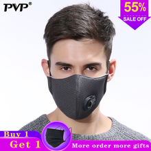 2PCS anti dust mask Activated carbon filter Windproof Mouth-muffle bacteria proof Flu Face masks Care mask mouth Mask 1pcs mouth mask pure black fashion face masks anti haze dust cotton mask outdoor nose filter windproof muffle bacteria flu c5