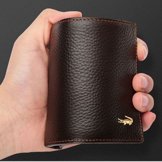 Men's Short Leather Wallet