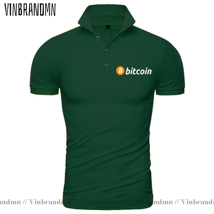 2021 Bitcoin HODL Your Cryptos Cryptocurrency Funny Polo shirt for Men Short Sleeves Clothes New Arrival Tee Shirt 100% Cotton 5