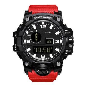 Watch Honhx Luxury Mens Digital Led Watch Date Sport Men Outdoor Electronic Watch For Women Watch Fo