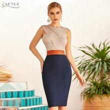 Adyce 2021 Новое летнее женское облегающее платье без рукавов