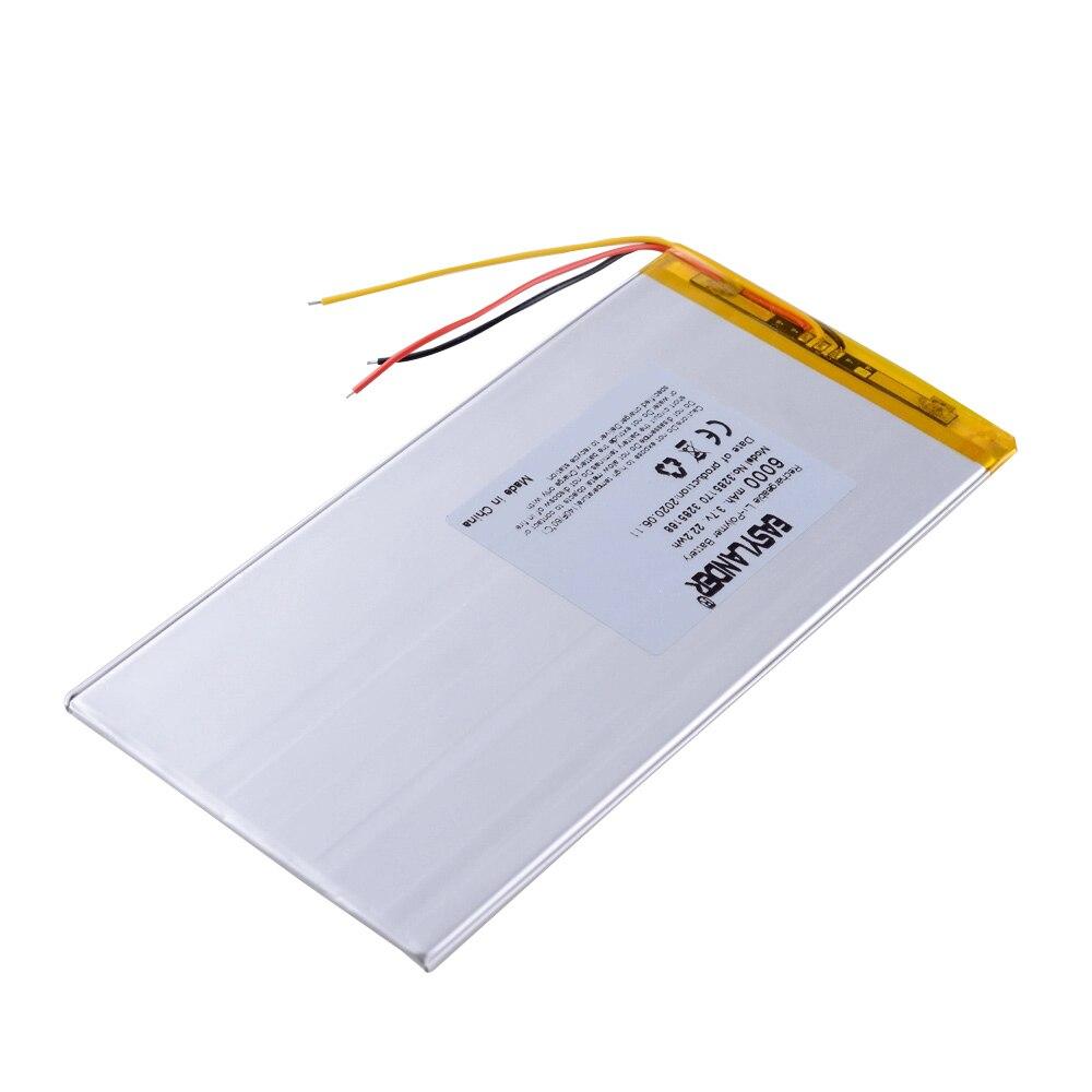 3 линии планшетный ПК 3285170 3,7 V 6000MAH полимерный литий ионный аккумулятор для планшетных ПК 7 дюймов 8 дюймов 9 дюймов 3285168 3085170 Перезаряжаемые батареи      АлиЭкспресс