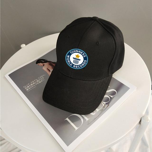 Guinness Records Cap Fashion Accessories Baseball Hat Golf Hat Snapback Cap Men Women Cap Sports Cap Outdoors Cap Hip-hop Cap 1