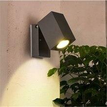 Светодиодная подсветка стен в коридоре с одной головкой