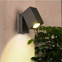 Modern Simple Outdoor Rotatable Single Head Led Wall Light Corridor Lamp External Wall Courtyard Lamp Free Shipping