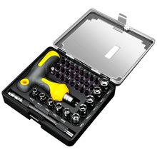Household universal T-type ratchet screwdriver set cross Torx screwdriver screwdriver driver manual tool combination