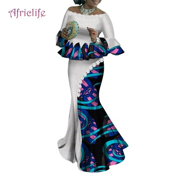 WY4922 Superior Quality Traditional African Women Clothing Set Suitable to Wedding Party Many Occasions Female Clothes