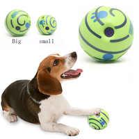 Intéressant jouet chien sur canapé pour animaux de compagnie interactif Vocal balle chien à mâcher chien dent balle propre nourriture balle en plus fort en caoutchouc Bal