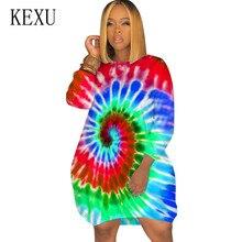 цена KEXU Vintage Seven-quarter Sleeve O Neck Loose Women Dress New Arrival Femme Hollow Out Retro Party Casual Dress Plus Size 3XL онлайн в 2017 году