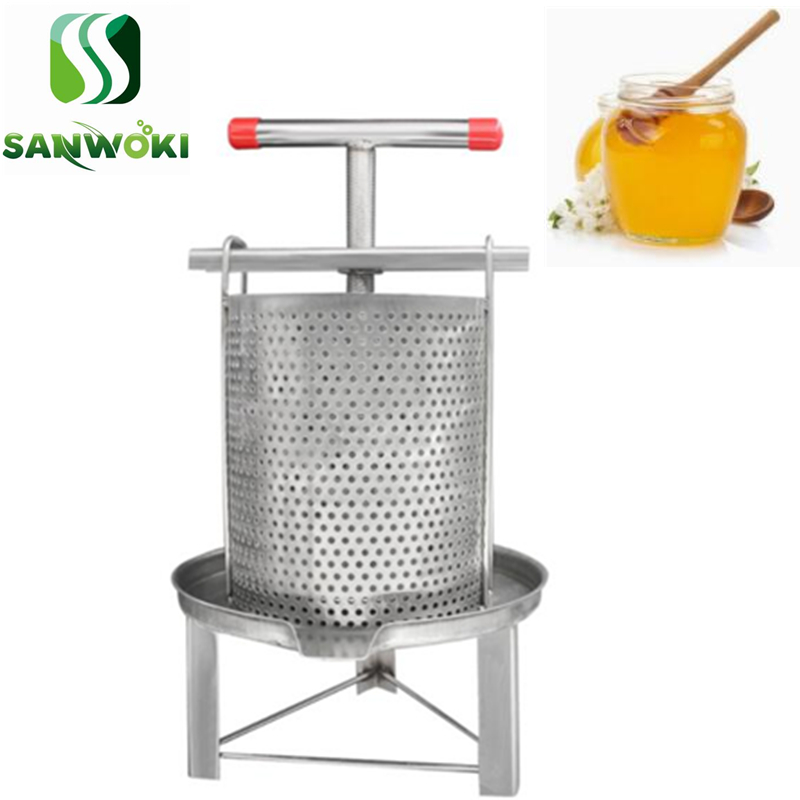 304 Stainless Steel Household Manual Honey Press Wax Press Beekeeping Tool CE