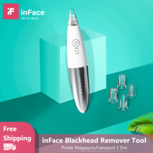 InFace инструмент для чистки угрей, уход за кожей, вакуумная машина для удаления прыщей и угрей, машина для очистки лица