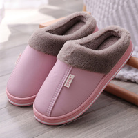 MCCKLE frauen Hause Hausschuhe Plüsch Warme Haus Schuhe für Frauen 2021 Nicht-slip Weiche Winter Drinnen Schlafzimmer Paare boden Pantoffel