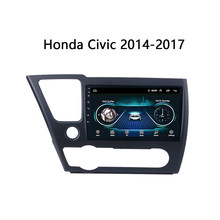 Android 8.1 Auto GPS Navigation für 2014-2017 Honda Civic fit magnitol Multimedia Player Video radio Bluetooth WIFI(China)