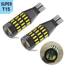 2x T15 T16 W16W Canbus Led Bulb Car Backup Reverse Lights Lamp for VW Passat B6 B5 B7 Golf 4 5 7 6 Jetta MK2 MK6 MK4 MK7 CC GTI