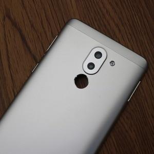 Image 4 - Huawei onur için 6X orijinal arka ile arka pil kapağı konut güç ses düğmesi + kamera Lens arka kapak kapı