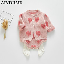 Christmas Baby Girl Clothes Newborn Knitted Baby