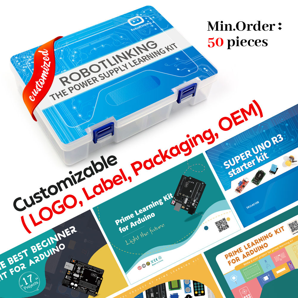 Super Starter Kit for Arduino UNO R3 with CD Tutorial Electronic DIY Kit With Tutorial Educational STEAM Kit Kids Gift|Integrated Circuits|   - AliExpress