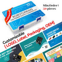 Super Starter Kit for Arduino UNO R3 with CD Tutorial Electronic DIY Kit With Tutorial Educational STEAM Kit Kids Gift