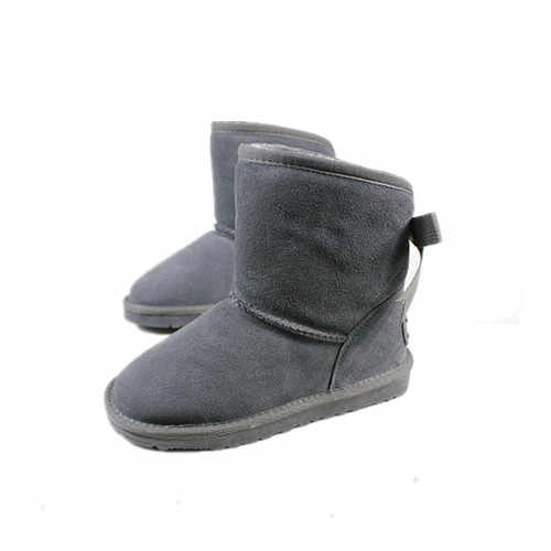 The new winter 2019 European version of women's snow boots