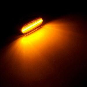 Image 5 - Dynmic автомобильный указатель поворота светодиодный индикатор поворота мигалка сигнальная лампа боковой маркер 26160AX00A для Nissan Qashqai Navara Micra