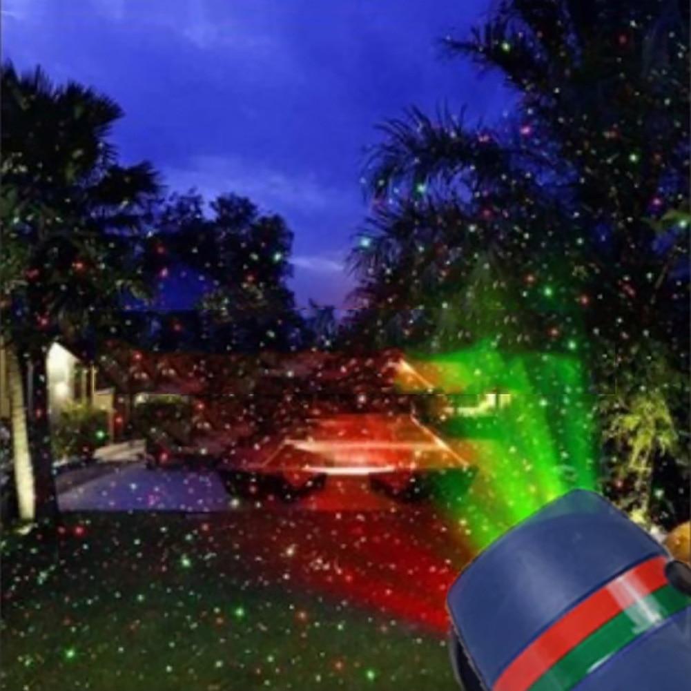 Christmas Waterproof Outdoor Landscape Garden Star Laser Projector Shower Lights
