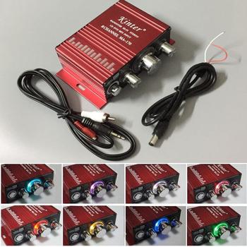 Gra arkade MA-170 12V 2 kanały LED Mini radio HIFI wzmacniacz do konsoli do gier JAMMA MAME szafy maszynowe tanie i dobre opinie xinmo Arcade Amplifier 8 lat