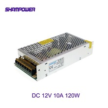 цена на DC 12V Power Supply 120W 10A AC 110V/220V To DC 12V Switch Power Supply Security Adapter Power Supply For LED Strip Light motor