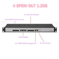 4 pon port 4 SFP slots epon 4 PON 10/ 100/100 0Mauto-negotiable port mini ftth fiber optic OLT 4 SFP port PX20 + PX20 + + PX20 + + +