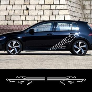 Pegatina de coche para Alfa Romeo, Stelvio, Q4, Mercedes GLA, GLB, GLC,...
