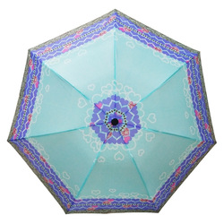 Genuine Product Paradise Umbrella Classic High Density Water Repellent Plain Color Polyester Spinning Three Fold Umbrella Stainl
