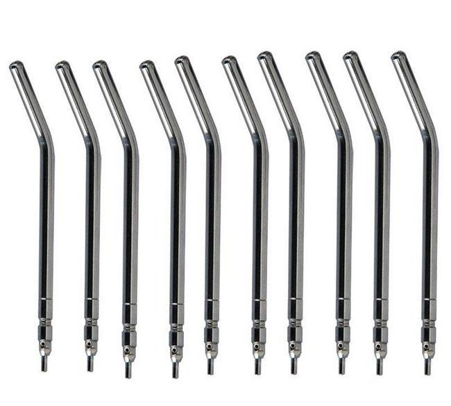 10pcs Spray Nozzles/Tips/Tube For Three Way/Triple Dental Air Water Syringe