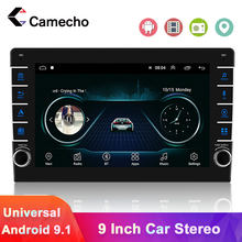 Camecho 2 Din Android 9.1 Car Radio Multimedia Player GPS Navigation Autoradio For VW Volkswagen Toyota Nissan Polo Golf Stereo(China)