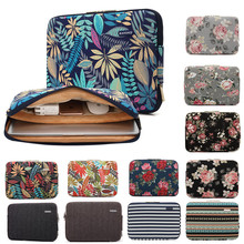 купить Sleeve Case For Laptop 11 12 13 14 15 15.6 17 inch, Bag For MacBook Air Pro 13.3 15.4 Notebook Bag For Dell Asus Lenovo HP Acer дешево