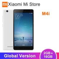 Глобальная версия Xiaomi Mi 4i M4i Snapdragon 615 2GB 16 GB/32 GB смартфон Восьмиядерный 5,0 1080 P 3120mAh 13MP камера мобильный телефон