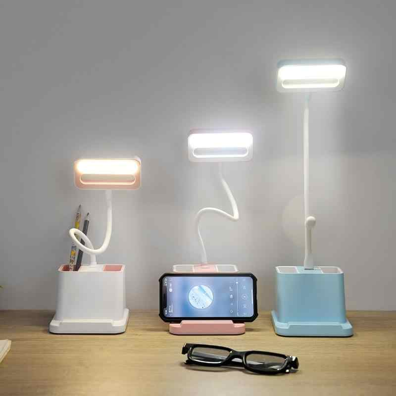 Детская спальня светодиодный настольная лампа с сенсорным управлением USB