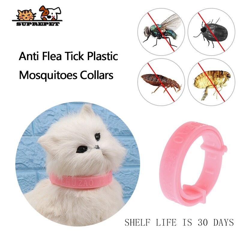 SUPREPET ปรับได้สำหรับกำจัดหมัดและ Pest Control PROTECT Repel ยางสร้อยคอของขวัญใหม่ Flea Killer