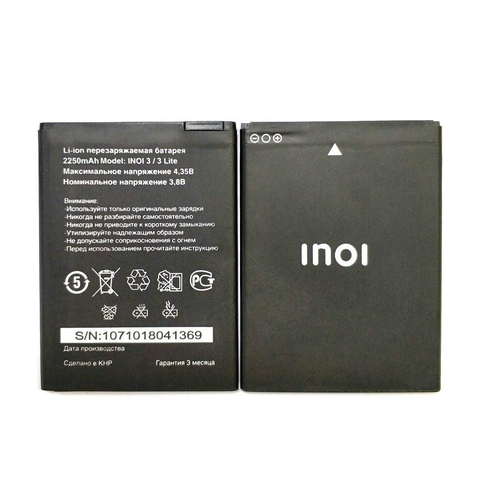 New 2250mAh Battery Batteries For INOI 3 Lite INOI3 Lite Mobile Phone In Stock