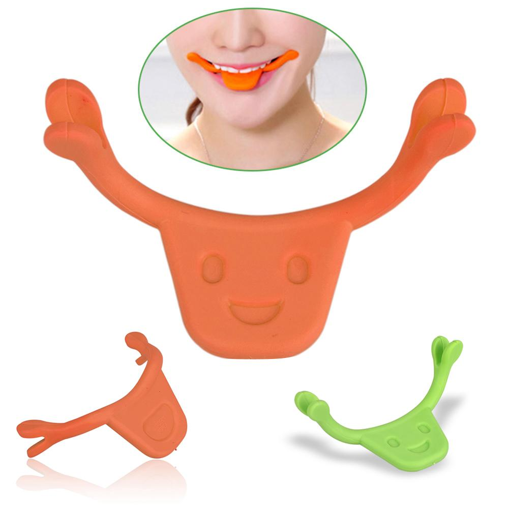 Smile Maker Face Muscle Training Exerciser Mouth Brace Smiling Practice Tool Silicone Material Made, Safe, Hygienic And Soft.