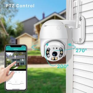 Image 2 - BESDER 1080P FHD H.265 Waterproof WiFi Camera Motion Voice Alert Dual Antenna IP Camera Audio IR Night Vision CCTV Surveillance