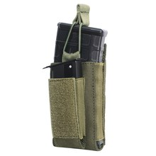 Molle System Magazine Pouch 1000D Nylon Double Layer Storage Bag Airsoft Tactical Rifle Hunting Accessories w(China)