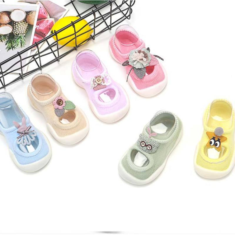 Baby Summer Rubber Sole Non-slip Shoes Baby Shoes Simple Cute Boy Girl Toddler Shoes Unisex Baby Fashion Infant Shoes
