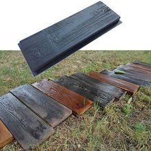 Path-Maker Brick-Mold Paving-Cement Road-Concrete-Mould Imitation Wood-Grain DIY